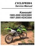 Kawasaki KDX200H KDX220A Cyclepedia Printed Service Manual_Page_1