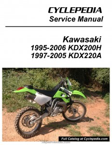 Kawasaki KDX200H KDX220A Cyclepedia Printed Service Manual_Page_1