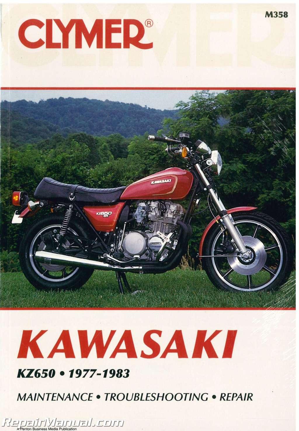 Kawasaki Kz650 1977 1983 Clymer Motorcycle Repair Manual