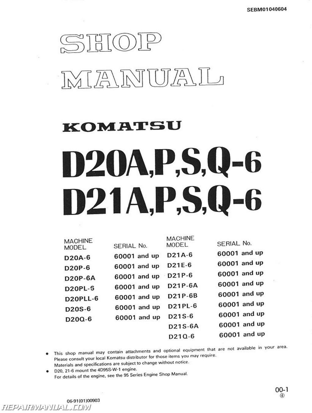 Komatsu Wiring Schematics Forklift Diagrams D20 Diagram D31p Complete U2022 For D37e 5