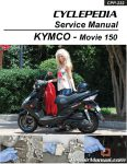 Kymco Movie 150 Scooter Printed Service Manual_Page_1