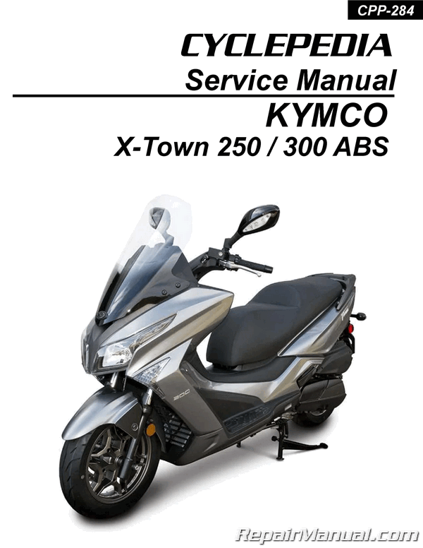 Kymco X Town 250 300 Abs Scooter Printed Service Manual Ebay