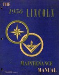 Used 1956 Lincoln Service Manual