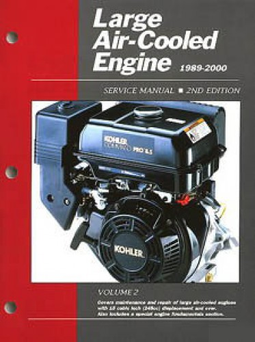 Large Air Cooled Engine Service Manual Volume 2 - 1989-2000 Clymer