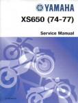 Official 1974-1977 Yamaha XS650 Factory Service Manual