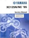 Official 1985-2001 Yamaha XC125 Riva Factory Service Manual