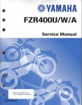 Used 1988-1990 Yamaha FZR400 Motorcycle Factory Service Manual