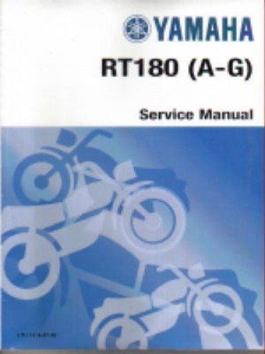 1990 1998 yamaha rt180 service manual rh repairmanual com Yamaha Dirt Bike Fuel Filters Yamaha 180Rt
