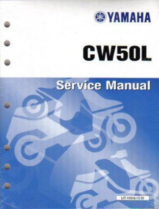 Used 1999-2001 Yamaha CW50 Scooter Factory Service Manual