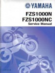 Used 2001-2002 Yamaha FZ-1 Motorcycle Factory Service Manual