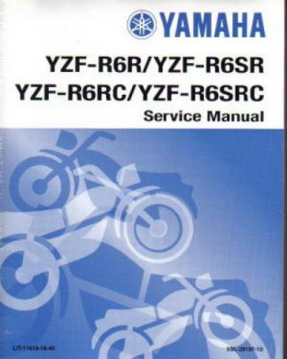 Official 2003 Yamaha YZF-R6 Factory Service Manual
