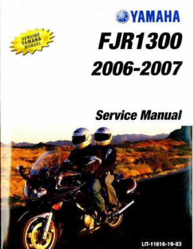 2006 2007 yamaha fjr1300 motorcycle service manual. Black Bedroom Furniture Sets. Home Design Ideas