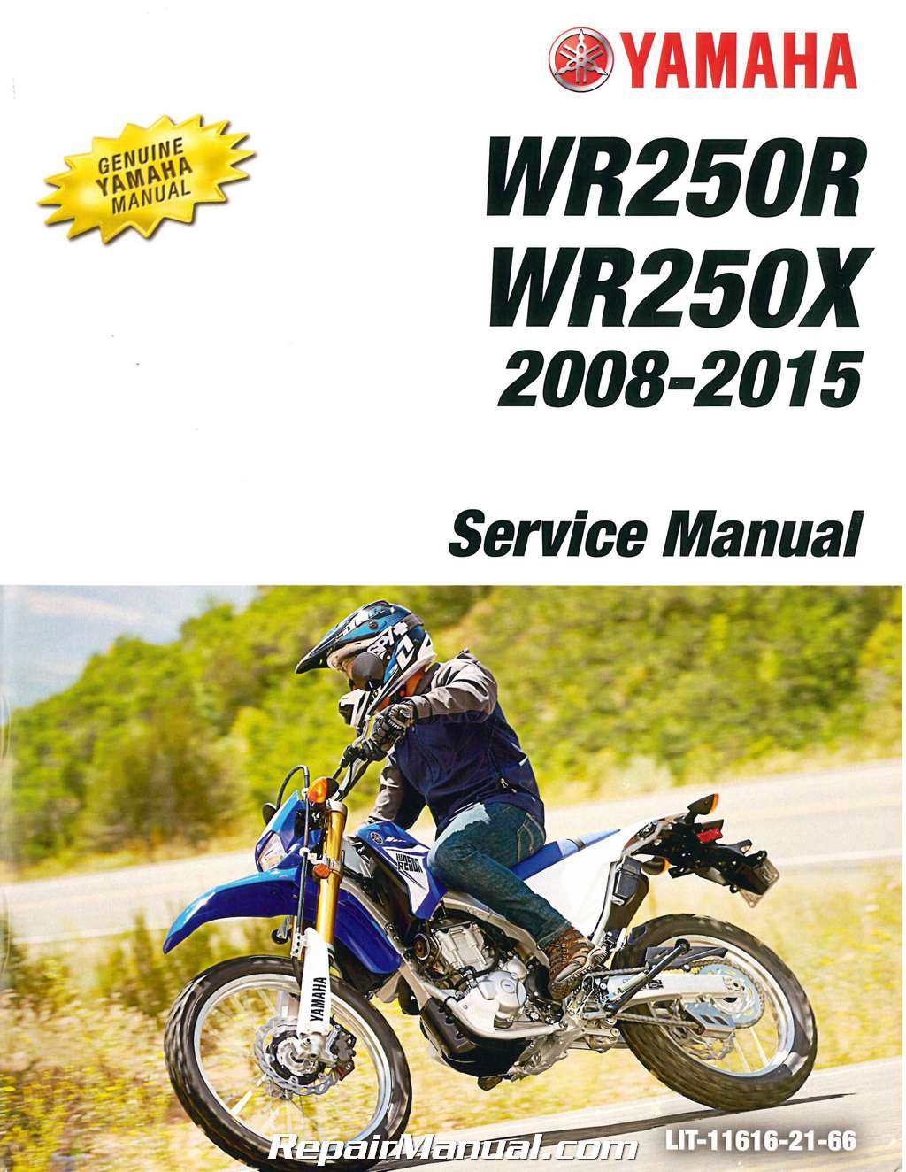 2008 2015 yamaha wr250r wr250x motorcycle service manual. Black Bedroom Furniture Sets. Home Design Ideas