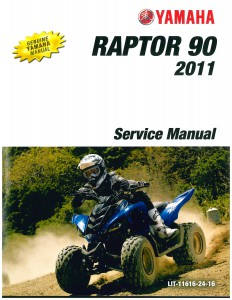 2011 2013 yamaha yfm90 raptor service manual for 2011 yamaha raptor 90 for sale