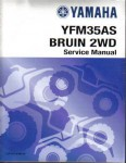 Official 2004-2011 Yamaha YFM350BAT Bruin Grizzly 2WD Factory Service Manual