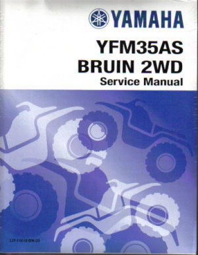 yamaha grizzly 350 service manual
