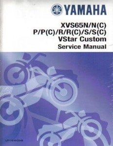 2004 2005 yamaha xvs650s sc v star custom service manual. Black Bedroom Furniture Sets. Home Design Ideas