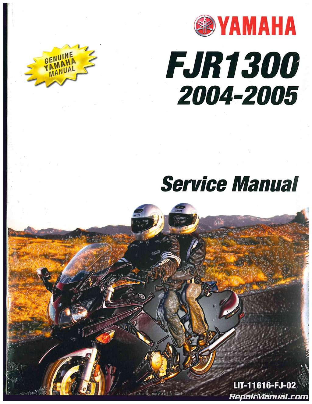 2004 2005 yamaha fjr1300 motorcycle service manual. Black Bedroom Furniture Sets. Home Design Ideas