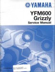 Official 1998-2001 Yamaha YFM600 GRIZZLY Factory Service Manual