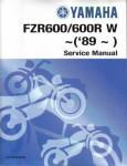 Official 1997-2000 Yamaha FZR600 Factory Service Manual
