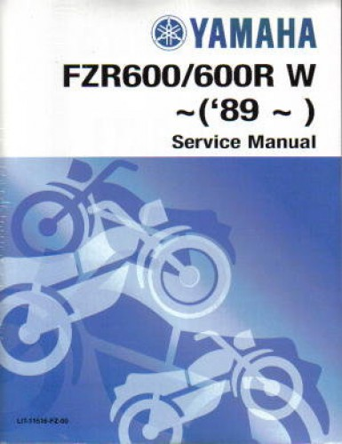 1997 2000 yamaha fzr600 service manual. Black Bedroom Furniture Sets. Home Design Ideas
