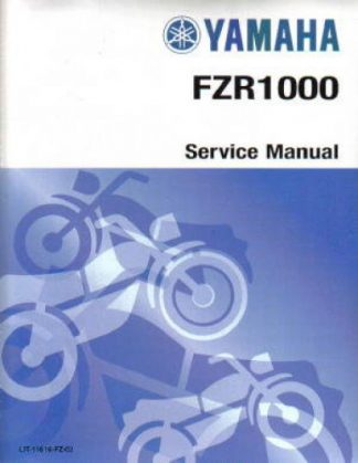 Official 1989-1995 Yamaha FZR1000 Factory Service Manual