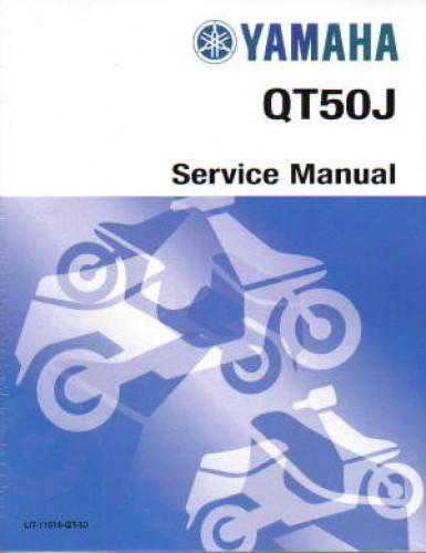 1983-1987 Yamaha QT50 Yamahopper Scooter Service Manual