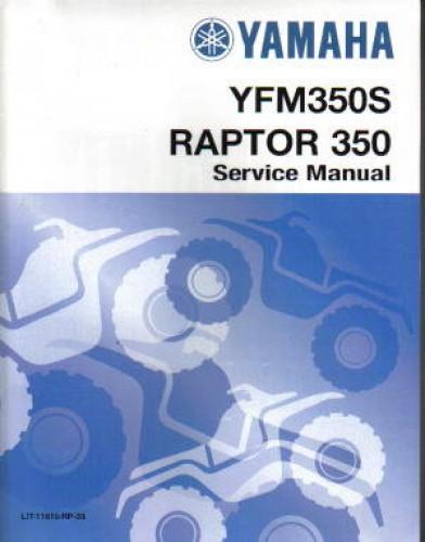 2004 2013 Yamaha Yfm350 Raptor 350 Atv Service Manual border=