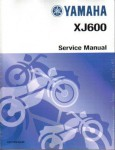Official 1992-1998 Yamaha XJ600S Seca II Factory Service Manual