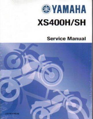 Official 1979-1981 Yamaha XS400H SH Factory Service Manual