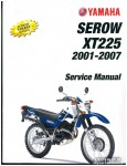 2001 - 2007 Yamaha XT225 Serow Motorcycle Service Manual