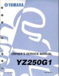 Official 1995 Yamaha YZ250 Factory Service Manual