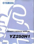 Official 1996 Yamaha YZ250 Factory Service Manual