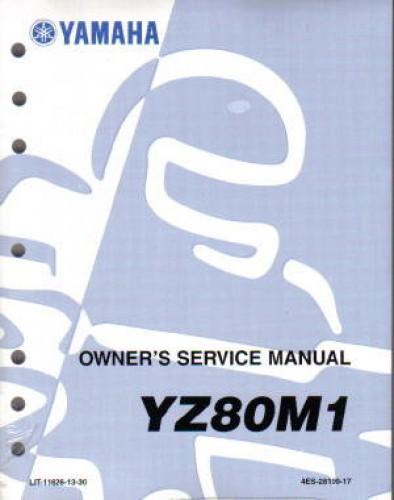 2000 yamaha yz80 service manual rh repairmanual com