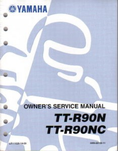 yamaha ttr 230 service manual pdf
