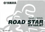 2001 Yamaha XV1600 Motorcycle Owners Manual