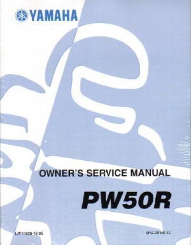 2003 Yamaha Pw50 Service Manual