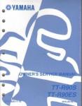 Used 2004 Yamaha TT-R90 Motorcycle Factory Service Manual