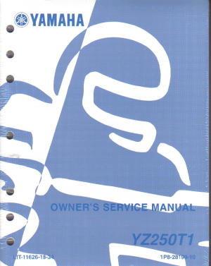 2005 yamaha yz250f owners motorcycle service manual Polaris ATV Wiring Diagram