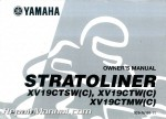 Official 2007 Yamaha XV19CTWC Stratoliner Motorcycle Owners Manual