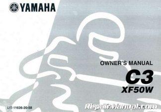 2004 – 2007 Yamaha YXR660F Rhino Side X Side Service Manual