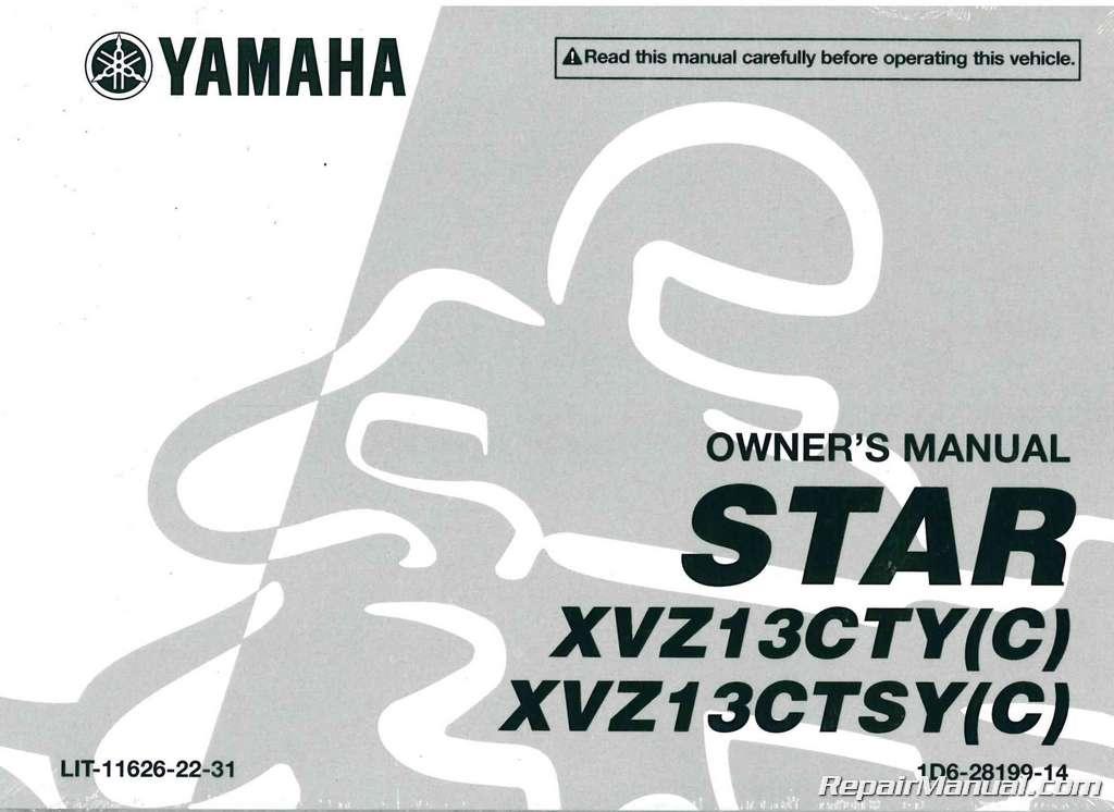 Yamaha Royal Star Owners Manual