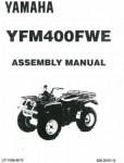 Used Official 1993 Yamaha YFM400FWE Kodiak Bear Assembly Manual