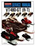 Official 1994-1997 Yamaha Venture XL VT480 Snowmobile Factory Service Manual
