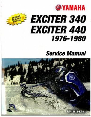 Yamaha Exciter Snowmobile Manual