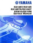 Official 2006-2010 Yamaha Apex RX RXW10 Snowmobile Factory Service Manual