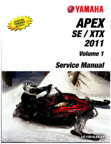 Official 1991-1992 Yamaha Venture GT XL VT480 Snowmobile Factory Service Manual