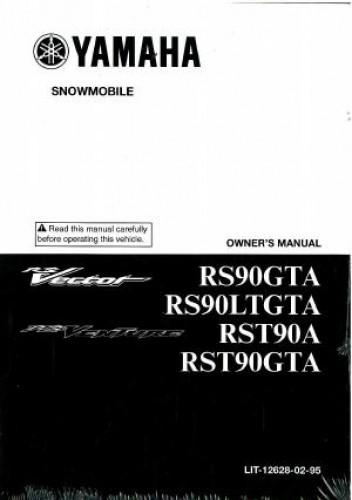 2011 Yamaha Rs Vector Rs900gtas  Ltgtas Snowmobile Owners