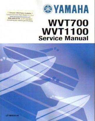 Official 1998 Yamaha WVT700BW WaveVenture Factory Service Manual