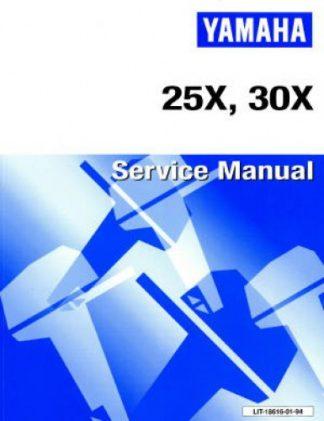 Official 1998 Yamaha 25X 30X Service Manual